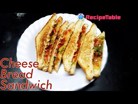 Cheese Bread Sandwich Easy Snack Recipe Preparation