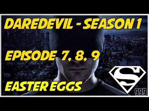 Marvel's Daredevil Season 1 Episode 7, 8, 9: Hidden Easter Eggs & Secrets
