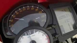 10. BMW F800R Acceleration 0-200 km/h