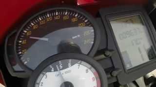 6. BMW F800R Acceleration 0-200 km/h
