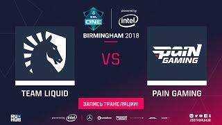 Liquid vs paiN, ESL One Birmingham [Lum1Sit, 4ce]