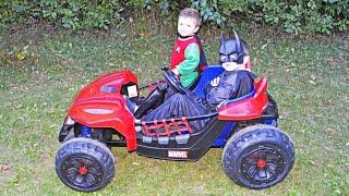 Batman and Robin Save the Day YouTube Kid Friendly Superhero Video