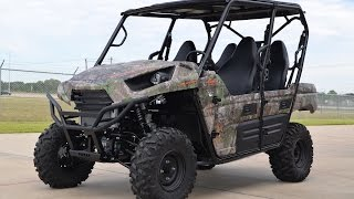 2. SALE $13,499:  2015 Kawasaki Teryx4 Camo Overview and Review!
