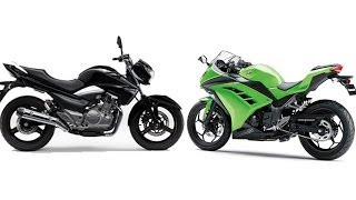 6. Kawasaki Ninja 300 Vs Suzuki Inazuma 250 | Specifications Comparison