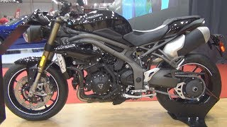 9. Triumph Speed Triple S (2018) Exterior and Interior