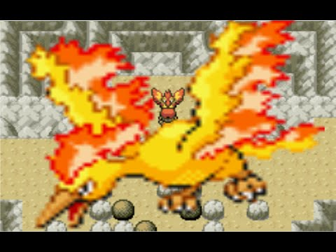 How To Get Moltres In Pokémon FireRed/LeafGreen Version