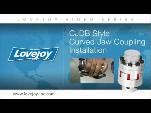Lovejoy Curved Jaw DB (CJDB) Drop Out Coupling Installation Video thumbnail
