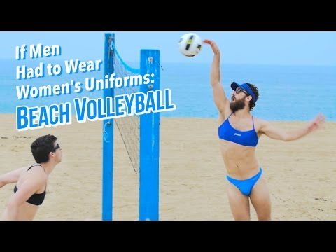 If Men Had to Wear Women s Olympic Beach Volleyball
