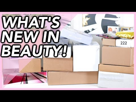 NEW BEAUTY LAUNCHES! | HUGE PR UNBOXING HAUL!