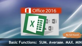 Nonton Excel 2016 Basics  Sum  Min  Average  Count Etc    Excel Made Easy Film Subtitle Indonesia Streaming Movie Download
