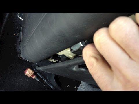 How to take apart repair a drivers car seat motor – Chrysler Pacifica