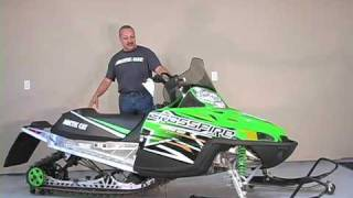9. Overview of Arctic Cat Crossfire 600 Snowmobile