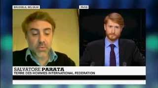 France 24 TV interview of Salvatore Parata, Terre des Hommes - English
