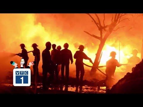 Cập nhật về vụ cháy nhà xưởng ở Trung Văn - Thời lượng: 0:59.