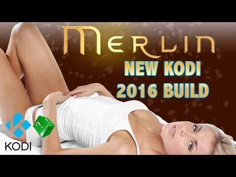 KODI – NEW 2016 BUILD MERLIN BALINOR  most amazing and complete experience (with live tv and guide)