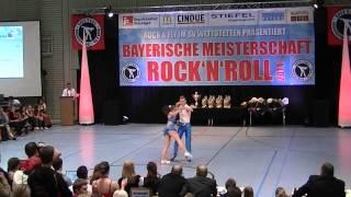 Nina Stahl & Philipp Bauer - Bayerische Meisterschaft 2014