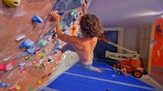 Axel Is Back In Sweden And Fighting An Old V9 Enemy! by Eric Karlsson Bouldering