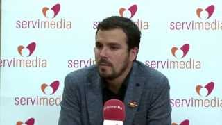 """Vídeo Garzón (IU) pide cambiar la ley para """"impedir que alguien se libre de la cárcel porque paga dinero"""""""