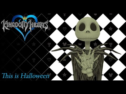 Kingdom Hearts 1.5 OST Halloween Town Theme ( This Is Halloween )