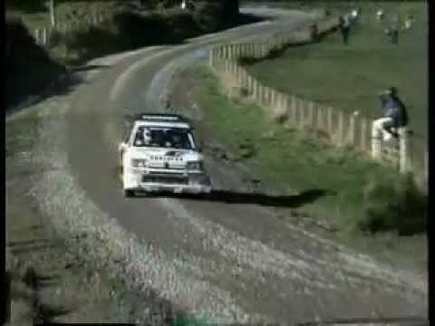 Rally - Best Of Group B - Audi Quattro & Peugeot 205 T-16 & Lancia Delta - Renault R5 Turbo