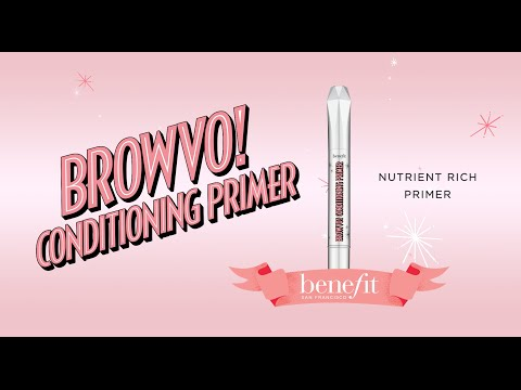 BROWVO! Nutrient Rich Conditioning Primer