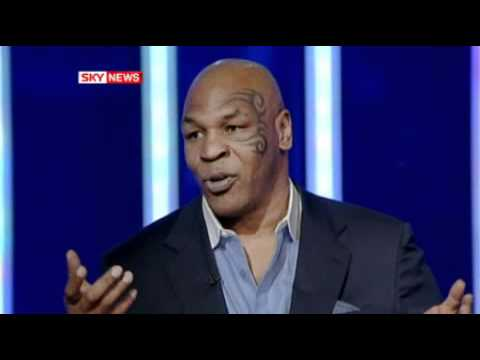 Mike Tyson Calmly Puts Reporter In Check