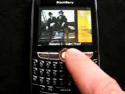 FlipSide Blackberry mp3 Player software video