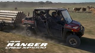 2. Introducing the all-new RANGER Crew XP 1000 EPS | Polaris Off-Road Vehicles