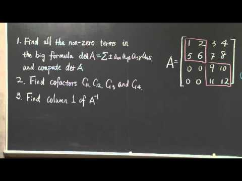 Exam #2 Problem Solving | MIT 18.06SC Linear Algebra, Fall 2011