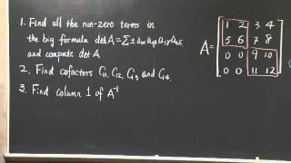 Exam #2 Problem Solving | MIT 18.06SC Linear Algebra, Fall 2011