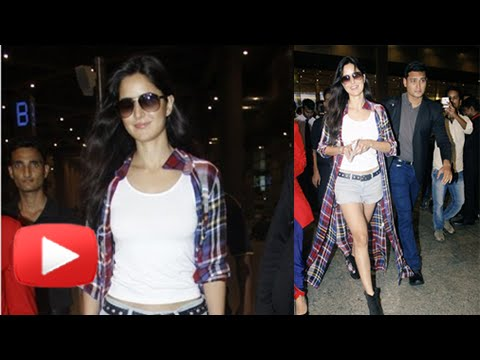 Katrina Kaif Returns Sexy Casual Look | Returns Fr