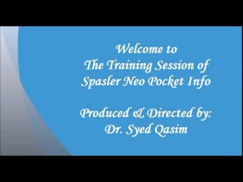 Spasler Neo Pocket Info Training by Dr Qasim