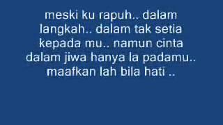 Opick - Rapuh (Lirik)