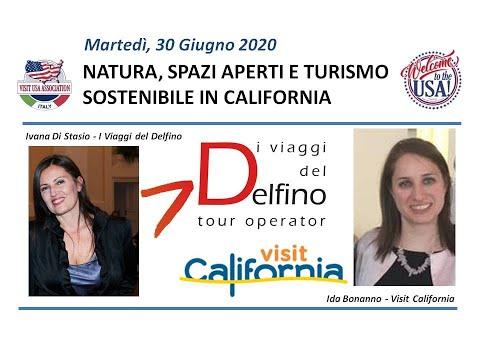 Video NATURA, SPAZI APERTI E TURISMO SOSTENIBILE IN CALIFORNIA (30-6-2020)