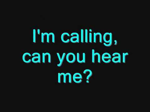 Calling - Leona Naess - Lyrics (On-Screen)
