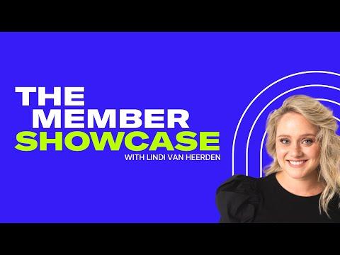 The Member Showcase with Lindi Van Heerden | Digital Marketing Institute
