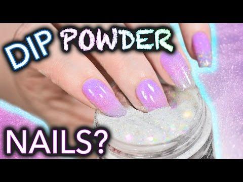 DIY Dip Powder Nails (do not snort)
