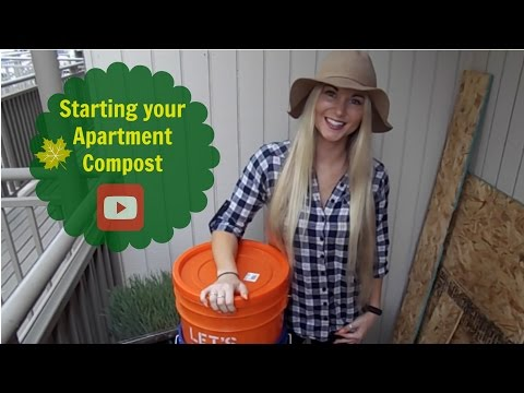 Starting an Apartment Compost