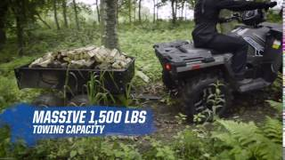 7. Sportsman 570 SP Towing Capacity Demo   Polaris Sportsman