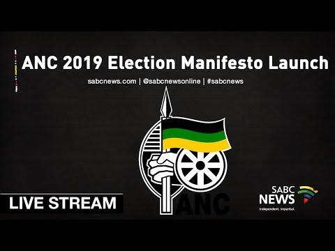 ANC 2019 Election Manifesto Launch, 12 January 2019
