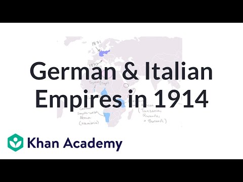 German Empire in Africa German And Italian Empires in