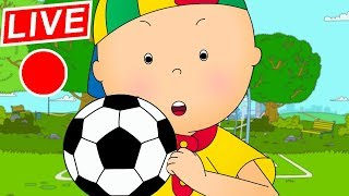 Video 🔴 LIVE CAILLOU LEARNS SOCCER - Live cartoon | Caillou live | Cartoons for children | Cartoon Movie MP3, 3GP, MP4, WEBM, AVI, FLV Juni 2018