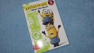 A Read Out Loud Book: Minions  Movie (Who's the boss?)