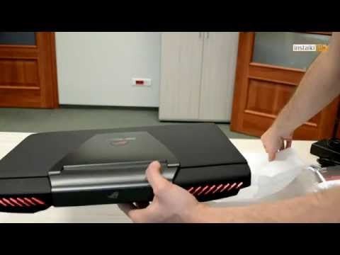 ASUS ROG G751JY - unboxing