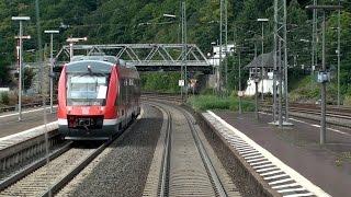 Siegen Germany  city photo : Führerstandsmitfahrt Gießen - Siegen Hbf   Dillstrecke   Train cab ride