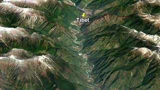 Points of confrontation in Tibet between India and China