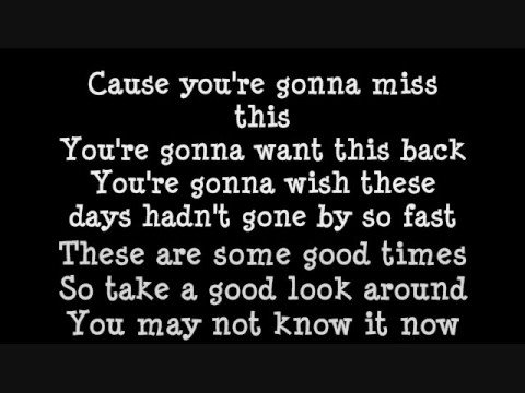 You're Gonna Miss This-Trace Adkins With Lyrics