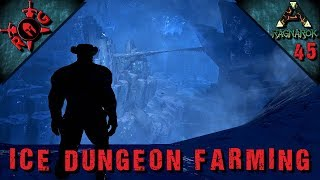 CHECKING OUT THE ICE DUNGEON ON RAGNAROK, AND FARMING FOR DEATHWORM HORNS FOR MANTIS TAMING.