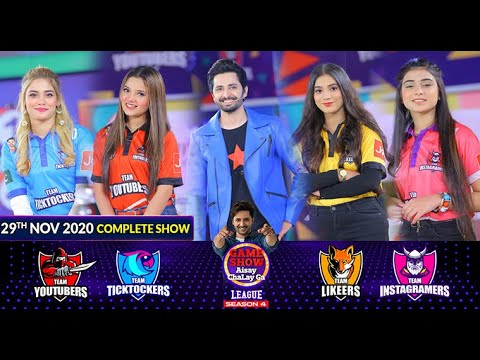 Game Show Aisay Chalay Ga League Season 4   Danish Taimoor   29th November 2020   Complete Show