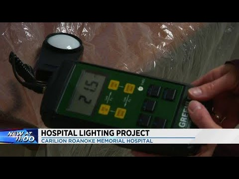 Roanoke Carilion Memorial Hospital switches to LED lights